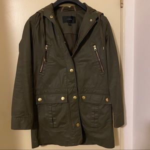 J.Crew Downtown Field Jacket (Long) - XXS - GUC ❣️